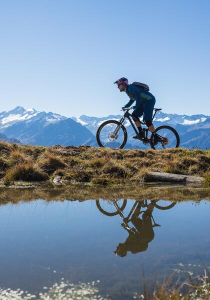 mountainbike trail salzburger land | © heikomandl.at