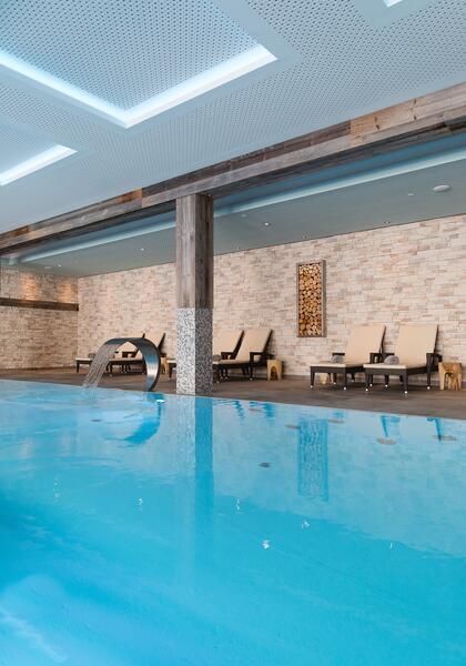 apartment with indoor pool wildkogel